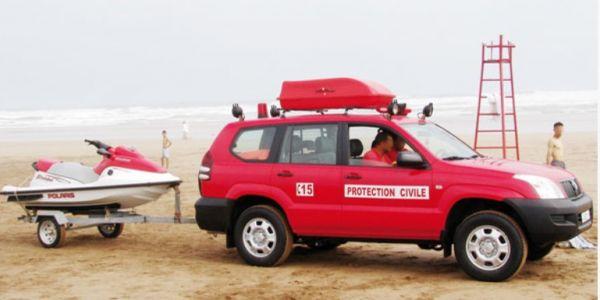 الوقاية المدنية لقات القاصر ضحية فيضانات الحسيمة
