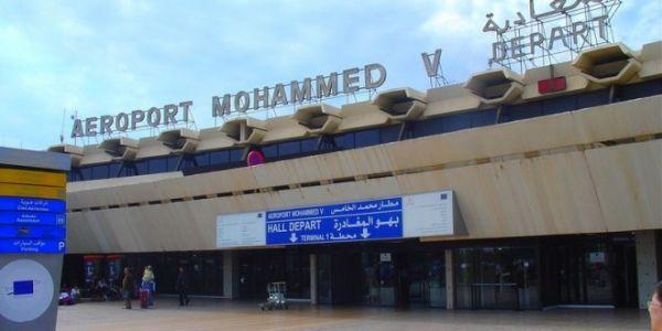 الإضراب يشل مجددا الحركة بمطار محمد الخامس