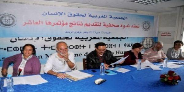التضييق على الحقوقيين مازال مستمر :منع 62 فرعا للجمعية المغربية لحقوق الإنسان