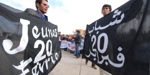"""ذكرى حركة """"20 فبراير"""" بفاس.. وجوه مؤسسة غبرات ويساريون كيوجدو لتخليدها"""