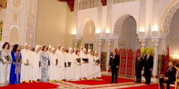 الملك محمد السادس استقبل اليوم السفراء الجدد وسلمهوم ظهائر تعيينهم