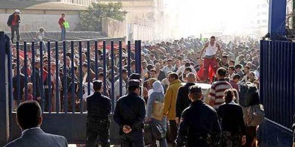 مليلية كتموت وكتزاوگ المغرب ينقذها. إجتماع بين مسؤولين مغاربة وصبليون بسباب منع السلع من باب مليلية