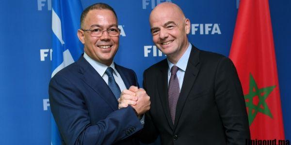 """رئيس """"الفيفا"""" جاي للمغرب.. التعاون مع بلادنا و تطوير الكرة المغربية والإفريقية على راس البروكَرام"""
