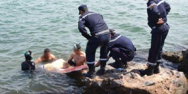 قاصر غرق وسبعة ديال الناس تعتقو فشاطئ سيدي إفني