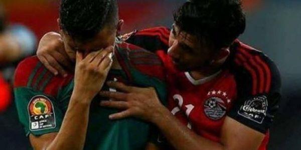 فيصل فجر حزين بعد وفاة جداه – صورة