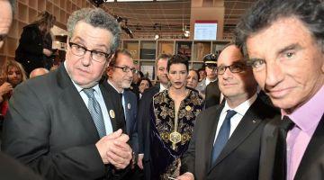 فضايح مدير معهد العالم العربي بباريس. هداوه 47 كوستيم سمالطو ب600 الف اورو
