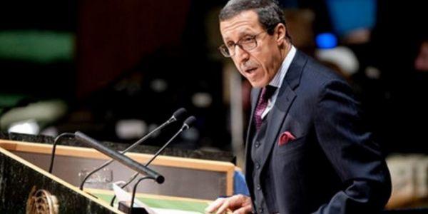 عمر هلال : اللجنة الرابعة ما خصهاش تناقش قضية الصحرا ومجلس الأمن ما قالهاش ليكم