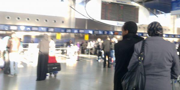 الإضراب فمطار محمد الخامس تمدد.. ومكتب المطارات يقلل من تأثيره