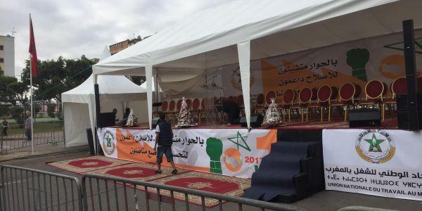 """فاتح ماي 2021.. نقابة """"البي جي دي"""" للحكومة: قدمو الدعم للفئات المتضررة من السدان بالليل فهاد رمضان"""