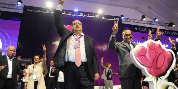 لنرفع القبعة عاليا لادريس لشكر!  أن تقنع المحامي محمد الهيني بأن يصبح اتحاديا هي ضربة معلم وصفقة القرن وخبطة الخبطات السياسية