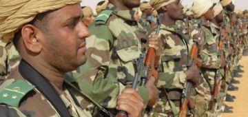 الجيش الموريتاني غايدير مناورات عسكرية حدا الحدود المغربية قريب من المنطقة العازلة