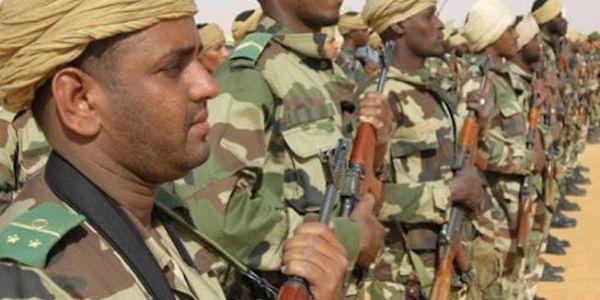 جيش موريتانيا بدا مناورات عسكرية فـ سواحلها البحرية