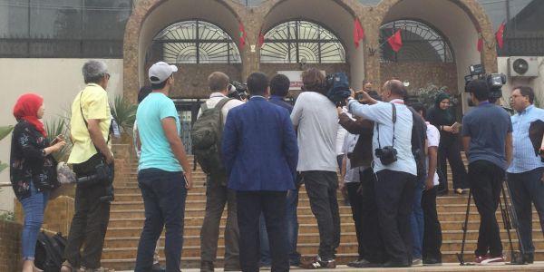 المحامي زيان صابح داير الحلقة مع الأجانب قبل انطلاق محاكمة المهداوي