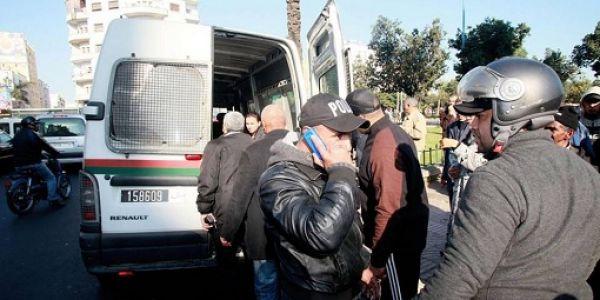 نصّاب طَاحْ فسلا.. ها كيفاش قولب مرشحة للمباراة ديال مفتشي الشرطة