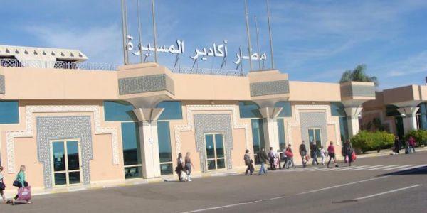 برتغالي حصل فـ مطار أكَادير مهرب الكوكايين والحشيش فـ كرشو
