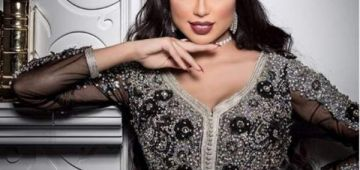 دنيا بطمة تغني لزوجها محمد الترك في عيد الحب