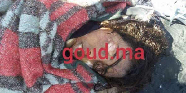 بالصورة. بحر بوجدور خرّج جثة ثالثة ديال شابة ضحية للهجرة السرية