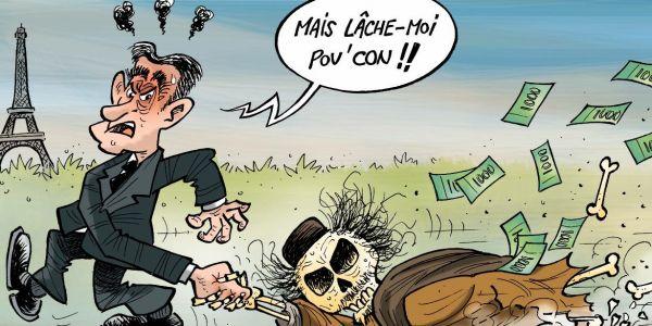 خرج فيه القذافي. ساركوزي متهم بتشكيل عصابة اجرامية فقضية تمويل ليبيا لحملتو