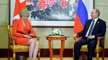 شاعلة بين تيريزا ماي وبوتين. ابريطانيا طردات دبلوماسيين روس وموسكو ترد بالمثل