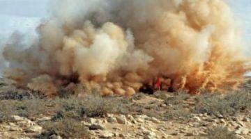 مقتل أربعيني وجرح خوه فانفجار لغم بالمنطقة العازلة