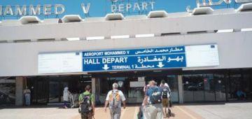 مطار محمد الخامس.. جميع الرحلات الدولية تحولات من ترمينال 2 للترمينال 1 اللي كان دشنو الملك