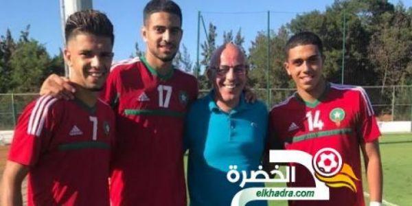الجزائر كتربص بدولي مغربي