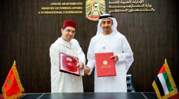الإمارات: احترام سيادة المغرب الترابية واجب فحل قضية الصحرا(صور)