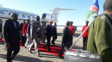 قطر سالات مع البوليساريو. هاد المرة زعيم البوليساريو وصل ناميبيا على متن الخطوط الجزائرية