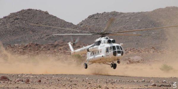 بالفيديو. مروحية المينورسو تكثف من طلعاتها الجوية بمنطقة الكركرات