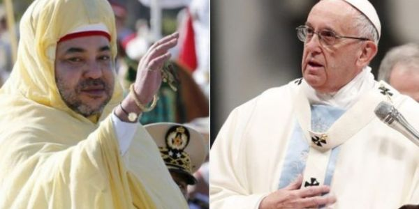 بعد 32 سنة من زيارة يوحنا الثاني للمغرب. الملك محمد السادس غايستقبل البابا فرنسيس