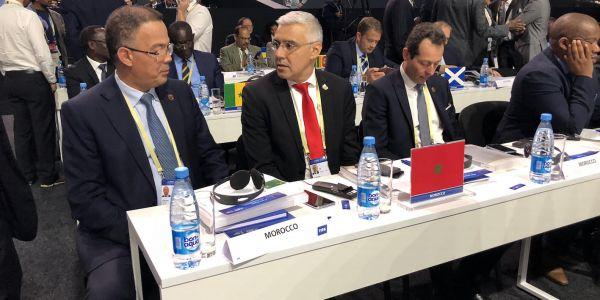 مباشرة من مؤتمر الفيفا: الاجواء قبل التصويت على مونديال 2026 =صور