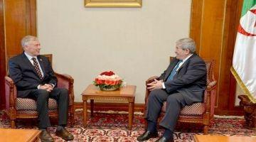 هورست كولر فثاني لقاءاتو تباحث مع الوزير الأول الجزائري