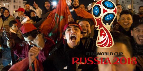 مغامرات مشجع مغربي في روسيا! روسيا كلها طوع بنانه، ورجال أمنها يأتمرون بأوامره