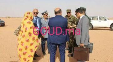 المعبر الحدودي تندوف/شوم تفتح رسميا … وموريتانيا دارت أول مكتب للجمارك (صور)