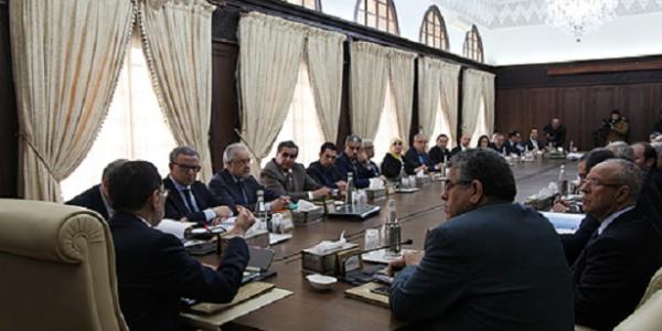 وزراء مؤثرون ماجاوش للمجلس الحكومي منهم اخنوش وبوريطة