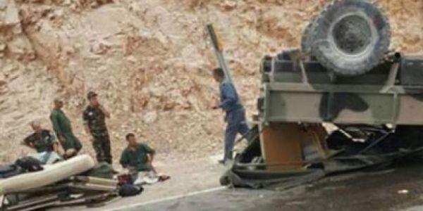 مقتل عسكري وجرح خمسة آخرين فكسيدة خايبة بين آسا والزاك