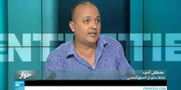 قضية الضابط السابق اديب جرات 4 الصحافيين لمغاربة للقضاء الفرنسي