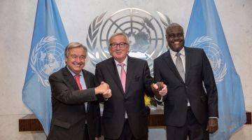 نزاع الصحراء على طاولة القمة الثلاثية الأممية الأوروبية الإفريقية (صور)