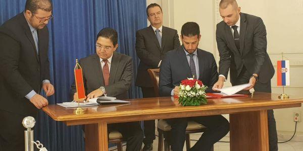 وزير الخارجية ناصر بوريطة مشا لدول البلقان (صور)