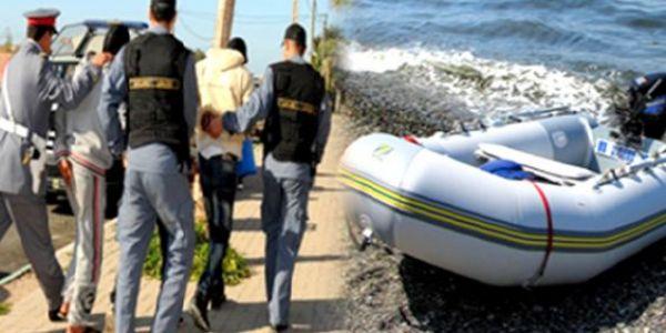الدرك طيح عصابة خطيرة للحريگ والاتجار في البشر للجزر الكناري من تيزنيت