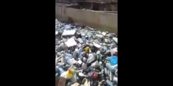 كارثة. بالفيديو.. لبنان ولات زبالة كبيرة