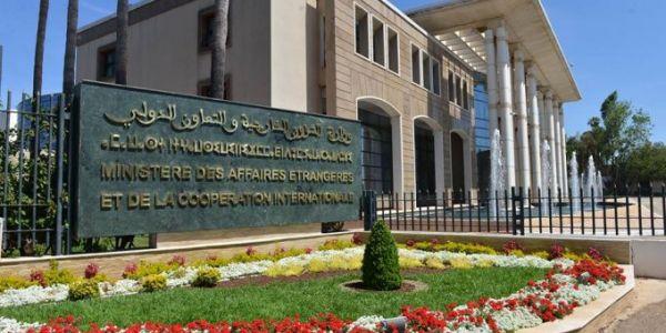 أرملة الدبلوماسي المغربي في اثيوبيا دخلات فاعتصام بوزارة الخارجية وها علاش