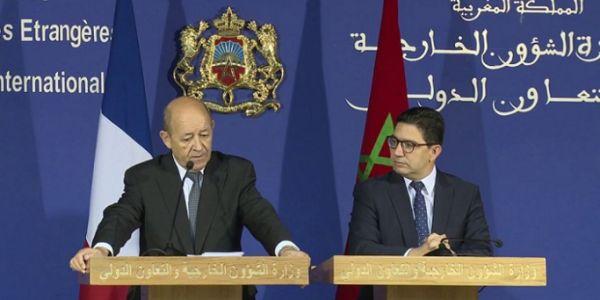 وزير الخارجية الفرنسي دار بناقص ما بقاش جاي للمغرب