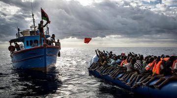 لامارين عاونات 143 مهاجر فسواحل طنجة والناظور