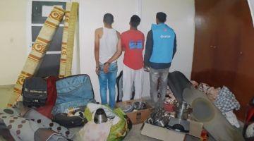 بوليس العيون قرقب على عصابة متخصصة فالشفرة ديال المنازل (صورة)