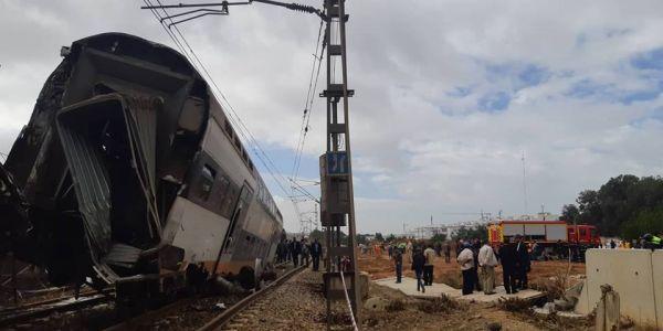 كارثة  قطار بوقنادل كانت غادي تعاود حدا فاس