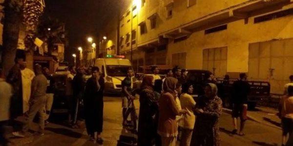 هجوم ببوطا شعل العافية فبوليس أكادير