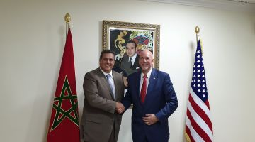 أخنوش تلقى برئيس الوكالة الأمريكية للخدمات الزراعية الدولية