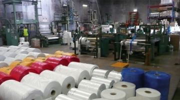 مستودعات سرية لصناعة البلاستيك منوضة الروينة وسط الداخلية