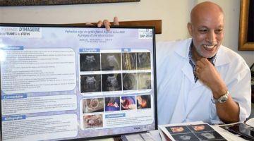 طبيب مغربي  دخل التاريخ  و فاز بجائزة طبية فرنسية